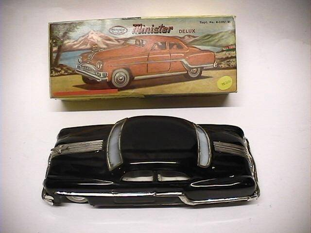 "Amar Toy Co - 1954 Buick Minister Dulux (Friction) 9"" Date: 60's"