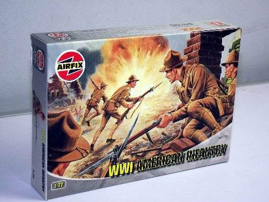 Airfix 1/72 01729 WWI American Infantry