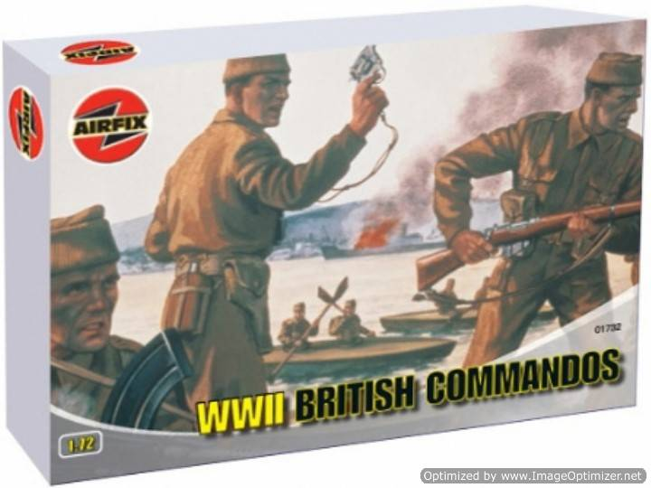 Airfix 1/72 01732 British Commandos