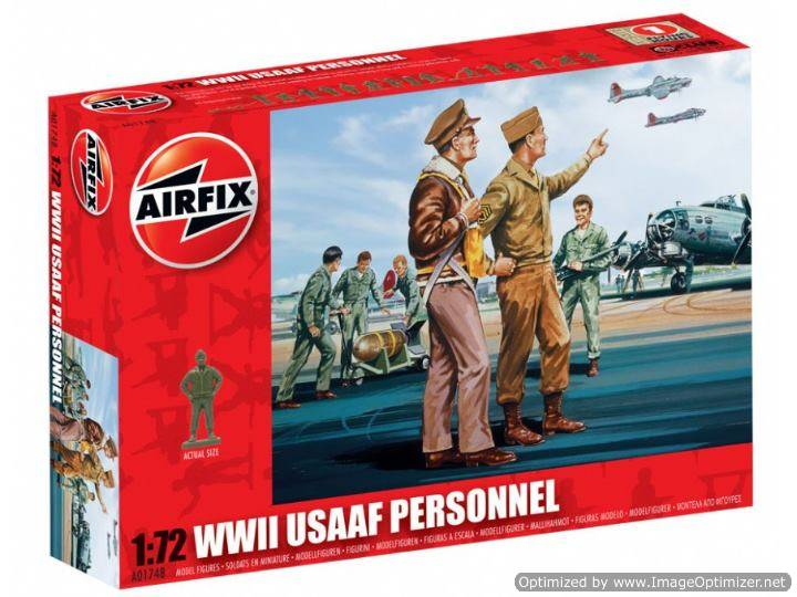 Airfix 1/72 01748 USAAF Personnel