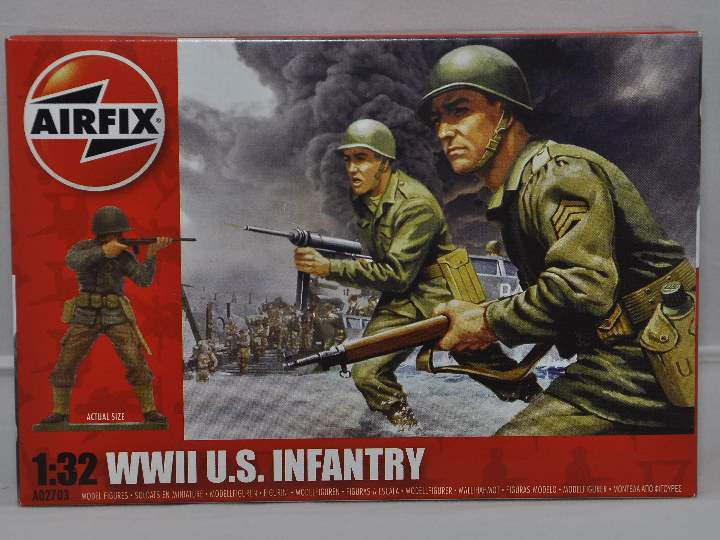 Airfix 1/32 02703 WWII US Infantry