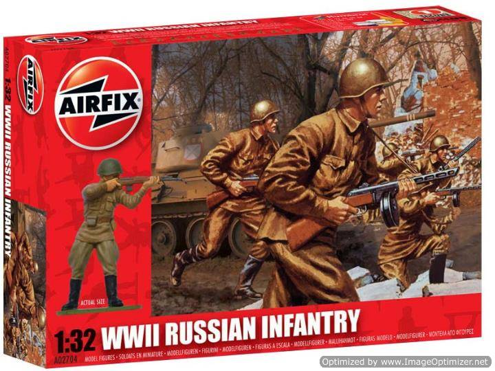 Airfix 1/32 02704 Russian Infantry