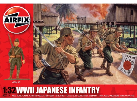 Airfix 1/32 02710 Japanese Infantry