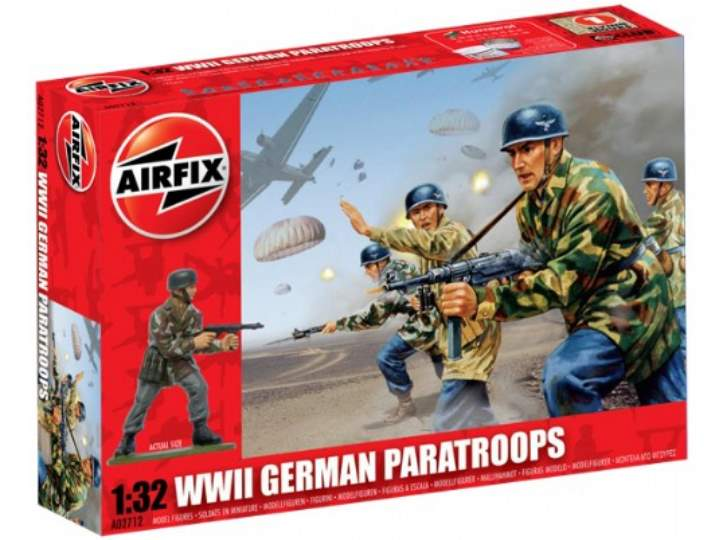 Airfix 1/32 02712 WWII German Paratroops
