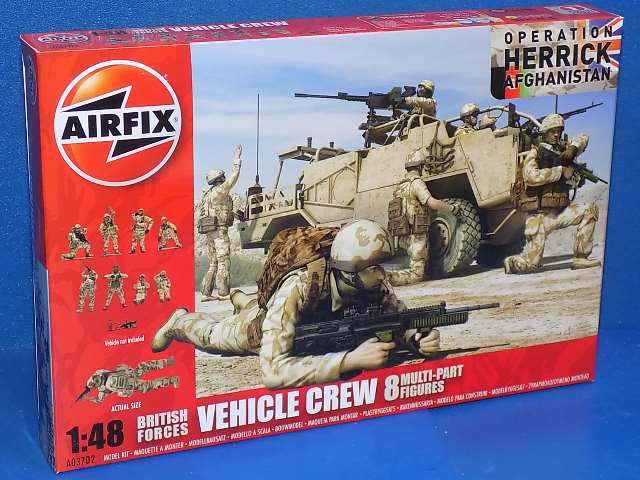 Airfix 1/48 03702 British Forces Vehicle Crew