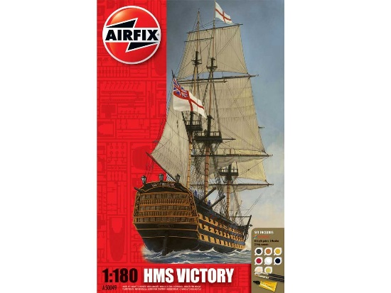 Airfix HMS Victory Gift Set 1/180 50049