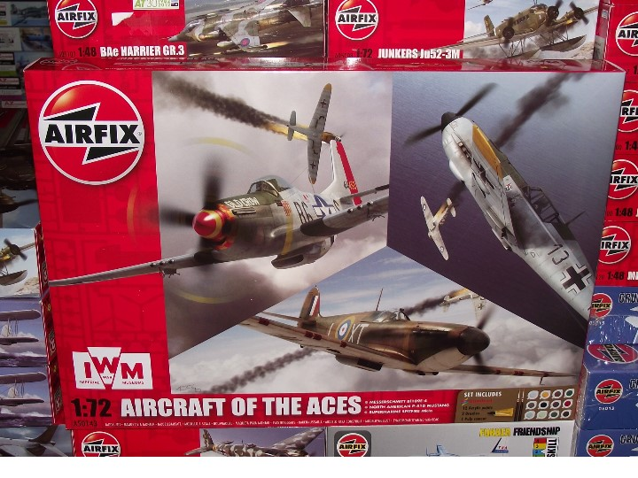 Airfix 1/72 50143 Aircraft of the Aces Gift Set