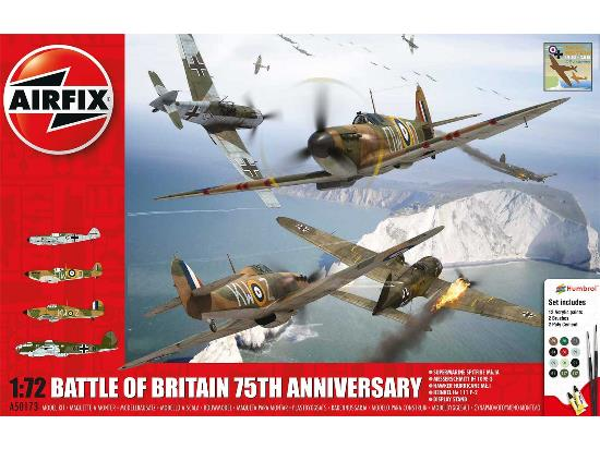 Airfix 1/72 50173 Battle of Britain - 75th Anniversary Gift Set - 4 Kits