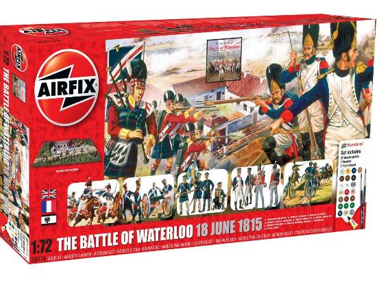 Airfix 1/72 50174 Waterloo 1815-2015 Gift Set