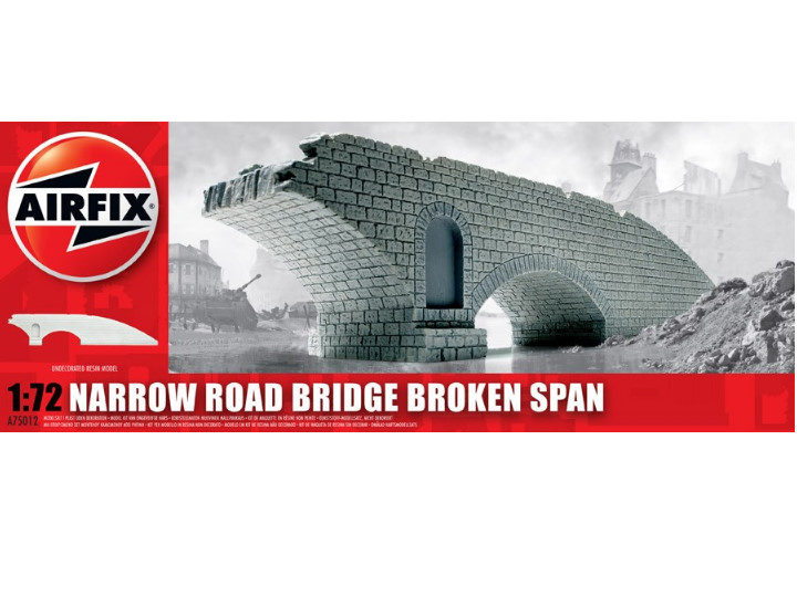 Airfix 1/76 75012 Narrow Road Bridge - Broken Span
