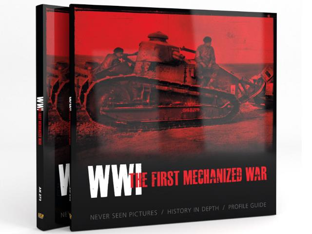 AK Interactive - 00273 WWI The First Mechanized War Book