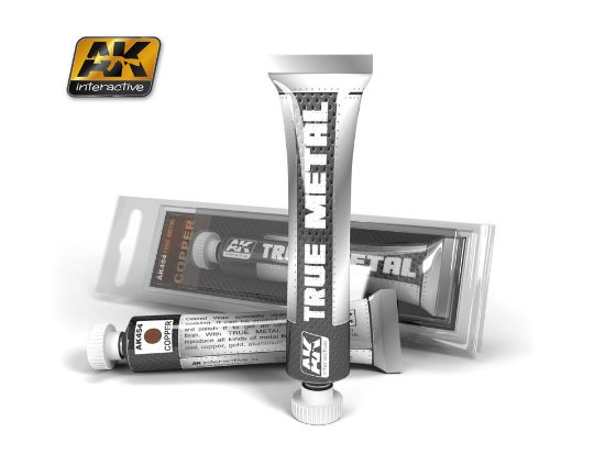 AK Interactive 20ml 00454 True Metal Paint - Copper