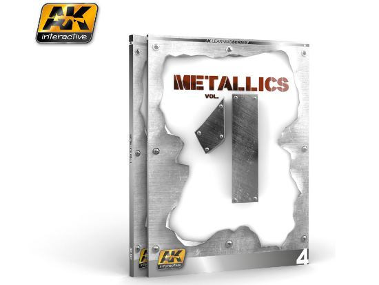 AK Interactive - 00507 Metallics Guide Vol 1 - Painting / 'How To' Guide