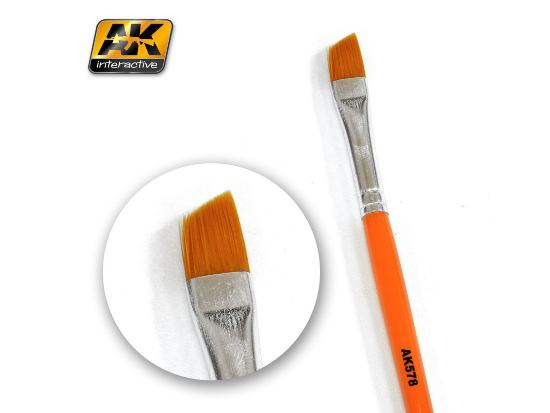 AK Interactive - 00578 Weathering Brush - Diagonal