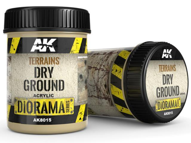 AK Interactive 250ml 08015 Terrains - Dry Ground