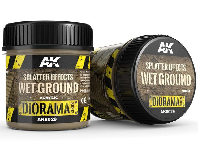 AK Interactive 100ml 08029 Splatter Effects - Wet Ground