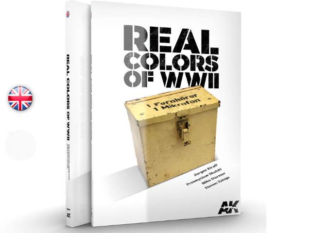 AK Interactive na 187 Real Colours of WWII