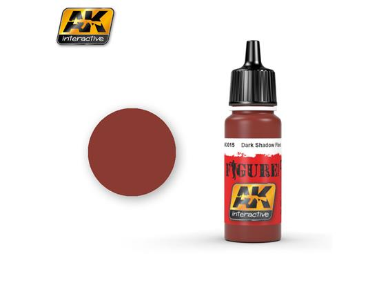 AK Interactive 17ml 3015 Figure Colour - Dark Shadow Flesh