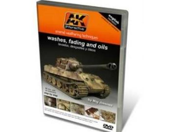 AK Interactive - DVD01 Washes, Filters and Oils DVD
