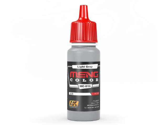 AK Interactive 17ml MC016 Light Grey - Acrylic Paint