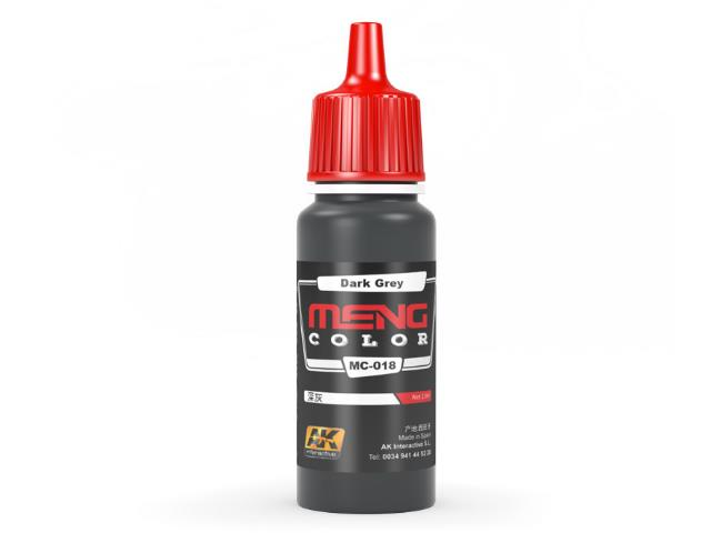AK Interactive 17ml MC018 Dark Grey - Acrylic Paint