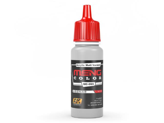 AK Interactive 17ml MC099 Acrylic Matt Varnish