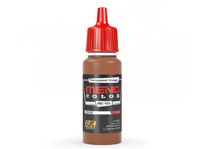 AK Interactive 17ml MC103 Transparent Orange - Acrylic Paint