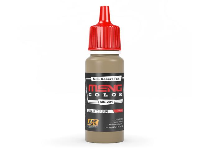 AK Interactive 17ml MC201 US Desert Tan - Acrylic Paint