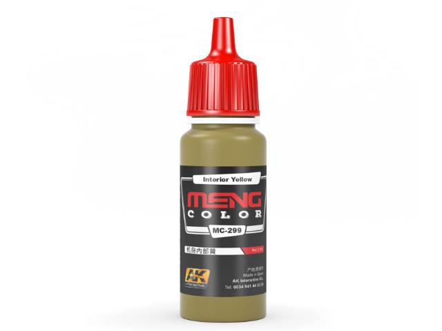 AK Interactive 17ml MC299 Interior Yellow - Acrylic Paint