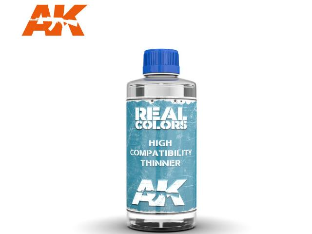 AK Interactive 200ml RC701 Real Colors High Compatability Thinners 200ml