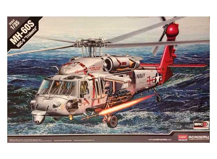Academy 1/35 US Navy MH-60S HSC-9 Tridents 12120