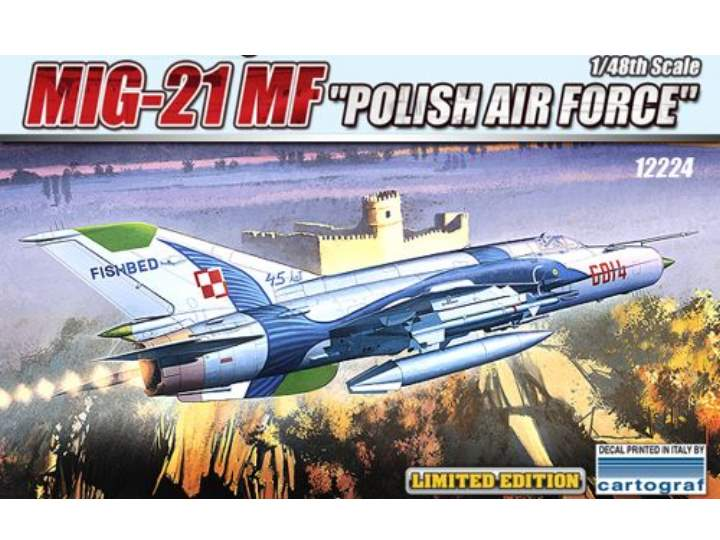 Academy 1/48 12224 MiG-21MF Polish Air Force