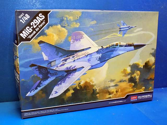 Academy 1/48 12227 MiG-29AS Slovak Air Force