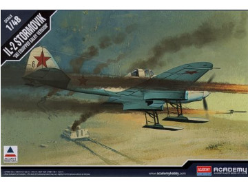 Academy Ilyushin IL-2 Stormovik on Skis 1/48 12286