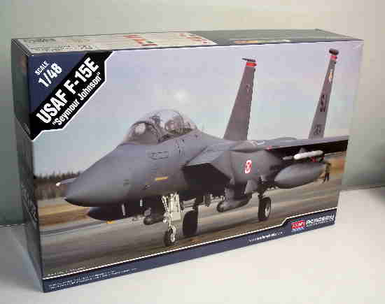 Academy 1/48 12295 USAF F-15E Seymour Johnson