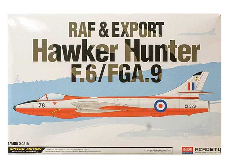 Academy 1/48 12312 Hawker Hunter F.6 / FGA.9 RAF & Export