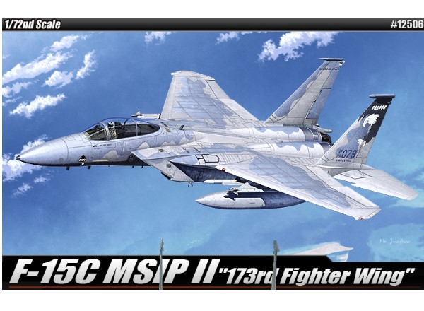 Academy 1/72 12506 F-15C MSIP II - 173rd Fighter Wing
