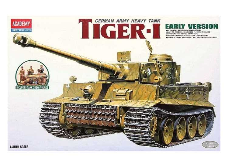 Academy 1/35 13264 German Army Heavy Tank Tiger I Early Version