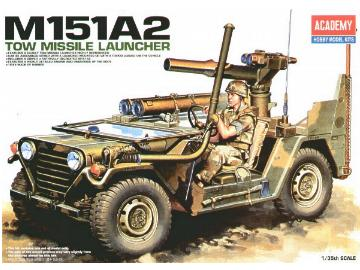 Academy 1/35 13406 M151A2 Tow Missile Launcher