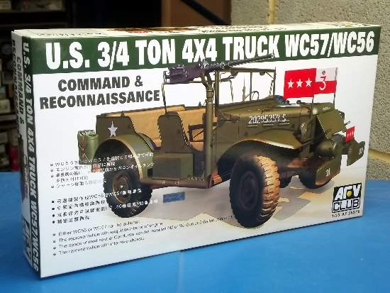 AFV Club WC57 Command Car Scale 1/35 35S16