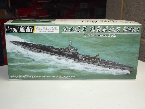 Aoshima 1/700 037980 IJN Submarine I-401 Full-Hull