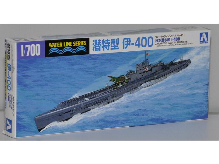 Aoshima 1/700 038444 Japanese Navy Submarine I-400