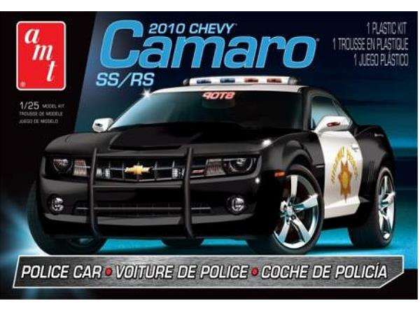 AMT 1/25 817 2010 Chevy Camaro SS/RS Police Car