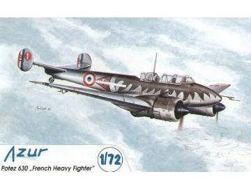 Azur 1/72 AZA036 Potez 630 French Heavy Fighter