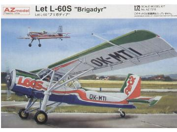 AZ Model 1/72 7215 Let L-60S Brigady Czech