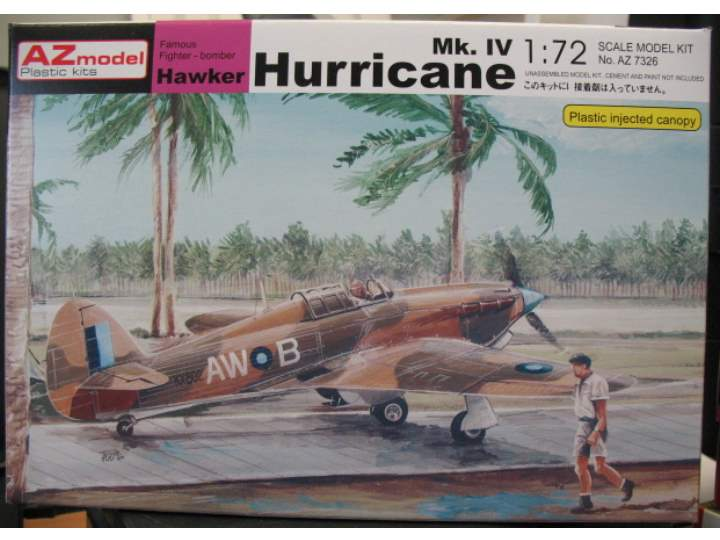 AZ Model 1/72 7326 Hawker Hurricane Mk. IV