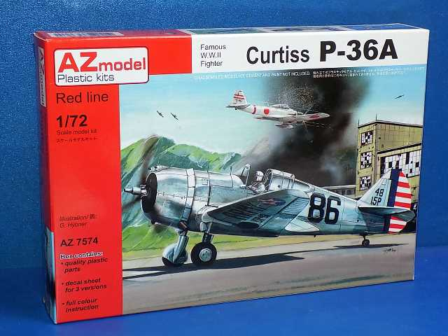 AZ Models 1/72 7574 Curtiss P-36A