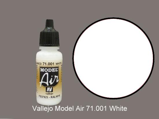 Vallejo 17ml MA001 Model Air - 001  White