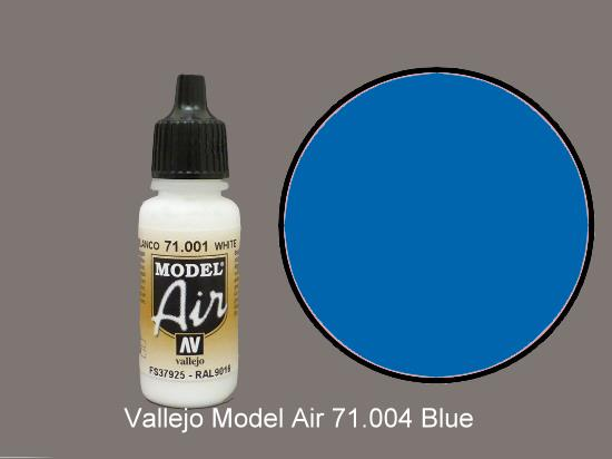 Vallejo 17ml MA004 Model Air - 004  Blue