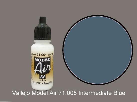 Vallejo 17ml MA005 Model Air - 005  Intermediate Blue